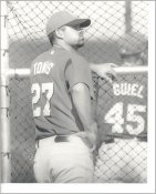 Mike Tonis G1 Limited Stock Rare KC Royals 8X10 Photo