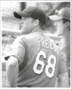 Ryan Freel G1 Limited Stock Rare Cincinnati Reds 8X10 Photo