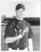 Chad Zerbe G1 Limited Stock Rare Giants 8X10 Photo