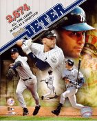 Derek Jeter 2,674 Hits All-Time Leader New York Yankees LIMITED STOCK 8X10 Photo