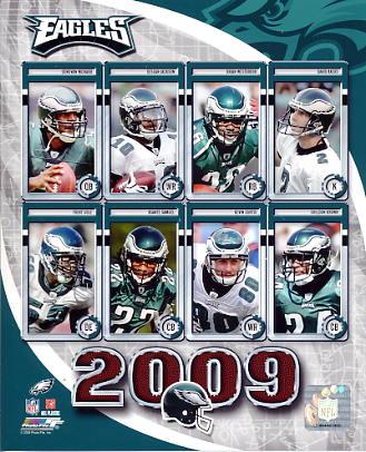 Eagles 2009 Philadelphia Team 8x10 Photo