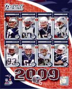 Patriots 2009 New England Team 8x10 Photo