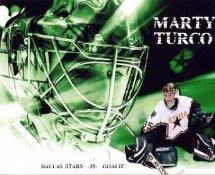 Marty Turco Dallas Stars G1 LIMITED STOCK RARE 8X10 Photo