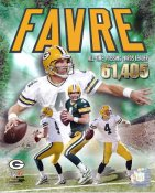 Brett Favre All Time Passing Yds Leader 61,405 Green Bay Packers 8X10 Photo