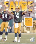 Brett Favre 50,000 Yards Club Green Bay Packers 8X10 Photo