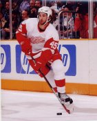 Kyle Quincey Detroit Red Wings G1 LIMITED STOCK RARE 8X10 Photo