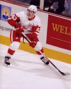 Darren Helm Detroit Red Wings G1 LIMITED STOCK RARE 8X10 Photo