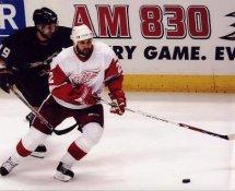 Brett Lebda Red Wings G1 LIMITED STOCK RARE 8X10 Photo