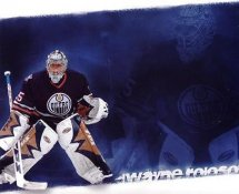 Dwayne Roloson Edmonton Oilers G1 LIMITED STOCK RARE 8X10 Photo