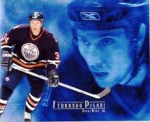 Fernando Pisani Edmonton Oilers G1 LIMITED STOCK RARE 8X10 Photo