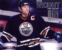 Doug Weight Edmonton Oilers G1 LIMITED STOCK RARE 8X10 Photo