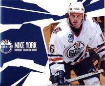 Mike York Edmonton Oilers G1 LIMITED STOCK RARE 8X10 Photo