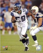 Aaron Curry LIMITED STOCK Seattle Seahawks 8X10 Photo