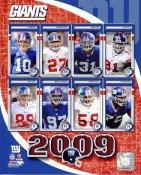 Giants 2009 New York Team 8X10 Photo