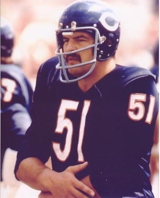 Dick Butkus Chicago Bears 8X10 Photo