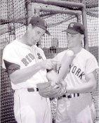 Roger Maris & Ted Williams New York Yankees 8X10 Photo