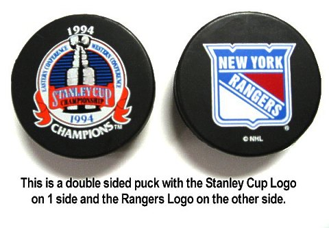 Rangers 1994 Puck Stanley Cup Hockey Puck