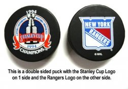 Rangers 1994 Puck Stanley Cup Hockey Puck