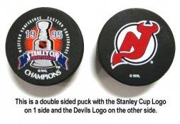 Devils 1995 Puck Stanley Cup Hockey Puck