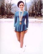 Peggy Fleming Ice Skating 8X10 Photo