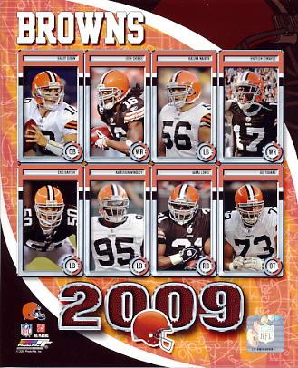 Browns 2009 Cleveland Team 8x10 Photo
