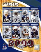 Chargers 2009 San Diego Team 8X10 Photo