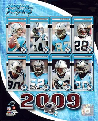 Panthers 2009 Carolina Team 8X10 Photo