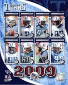 Titans 2009 Tennessee Team 8X10 Photo