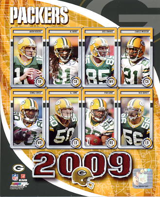 Packers 2009 Green Bay Team 8X10 Photo