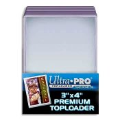 Toploader 3x4 Baseball & Sports Card Top Load Holder - Pack Of 25
