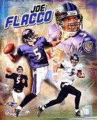 Joe Flacco Composite Baltimore Ravens 8X10 Photo