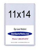 Toploader Photo 11x14 Holder Top Load - Pack Of 20