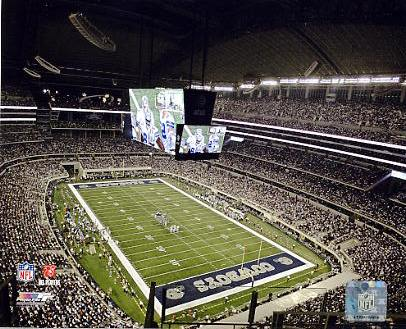 N2 Cowboys Stadium 2009 Opening Night 8X10 Photo