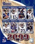 Rams 2009 St. Louis Team 8X10 Photo