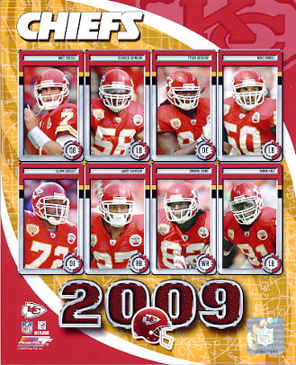 Chiefs 2009 Kansas City Team 8x10 Photo