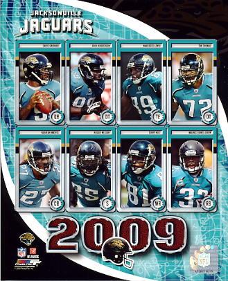 Jaguars 2009 Jacksonville Team 8x10 Photo