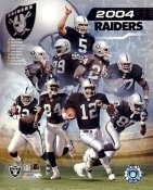 Raiders 2004 Oakland Team G1 Limited Stock Rare 8X10 Photo