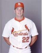 Mike Matheny St. Louis Cardinals 8X10 Photo