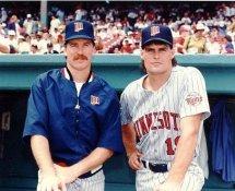 Jack Morris & Scott Erickson G1 Limited Stock Rare Minnesota Twins 8X10 Photo