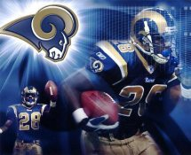 Marshall Faulk G1 Limited Stock Rare Rams 8X10 Photo