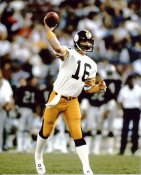 Mark Malone G1 Limited Stock Rare Steelers 8X10 Photo