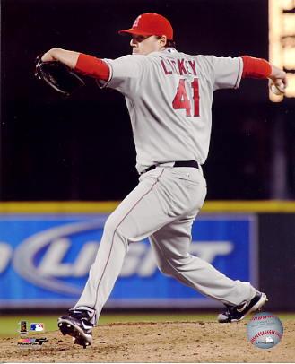 John Lackey LIMITED STOCK Anaheim Angels 8X10 Photo