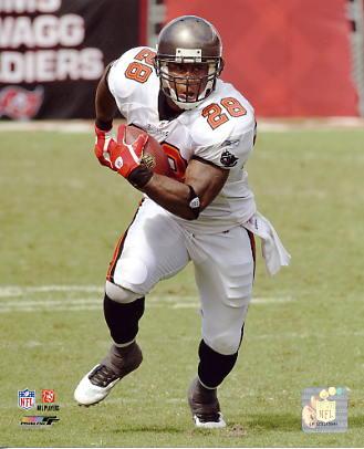 Derrick Ward Tampa Bay Buccaneers 8X10 Photo