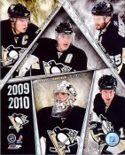 Penguins 2009 - 2010 Team Composite 8x10 Photo
