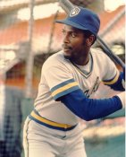 Ernie Riles G1 Limited Stock Rare Milwaukee Brewers 8X10 Photo