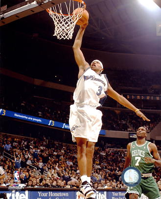 Caron Butler Washington Wizards 8X10 Photo