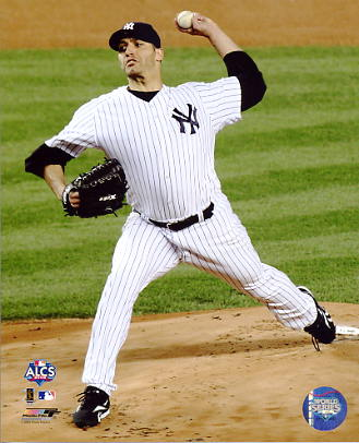 Andy Pettitte 2009 ALCS Game 6 LIMITED STOCK New York Yankees 8X10 Photo