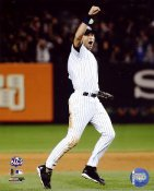 Derek Jeter LIMITED STOCK Celebrates 2009 ALCS Game 6 Win New York Yankees 8X10 Photo