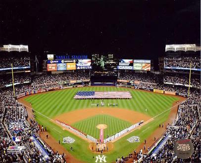 E3 Yankee Stadium 2009 World Series First Game 8X10 Photo