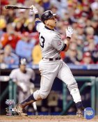 Alex Rodriguez 2009 World Series Game 3 Home Run New York Yankees 8X10 Photo
